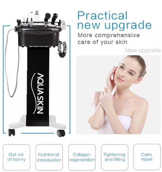 Black Multifunctional skin care lifting beauty machine