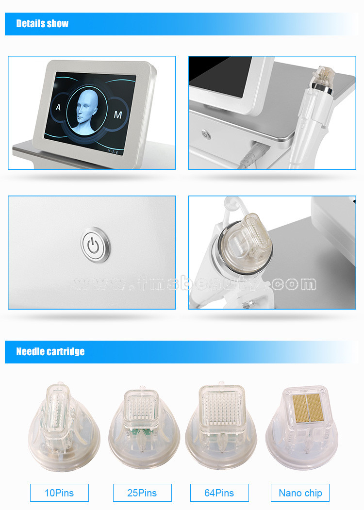 Secret RF fractional Gold micro needle device