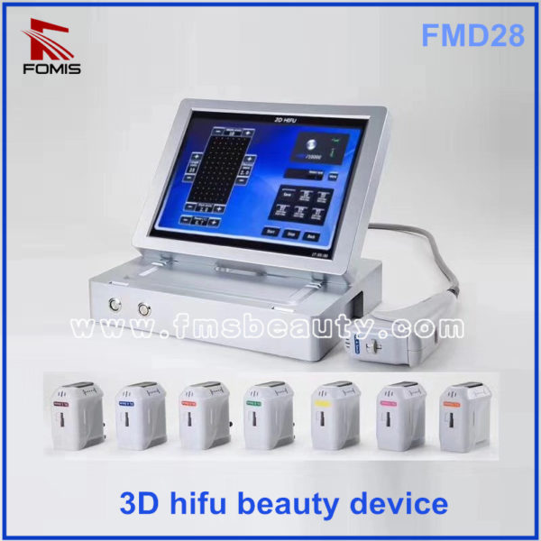 Portable 10000 shots 11 lines 3D Hifu beauty Device