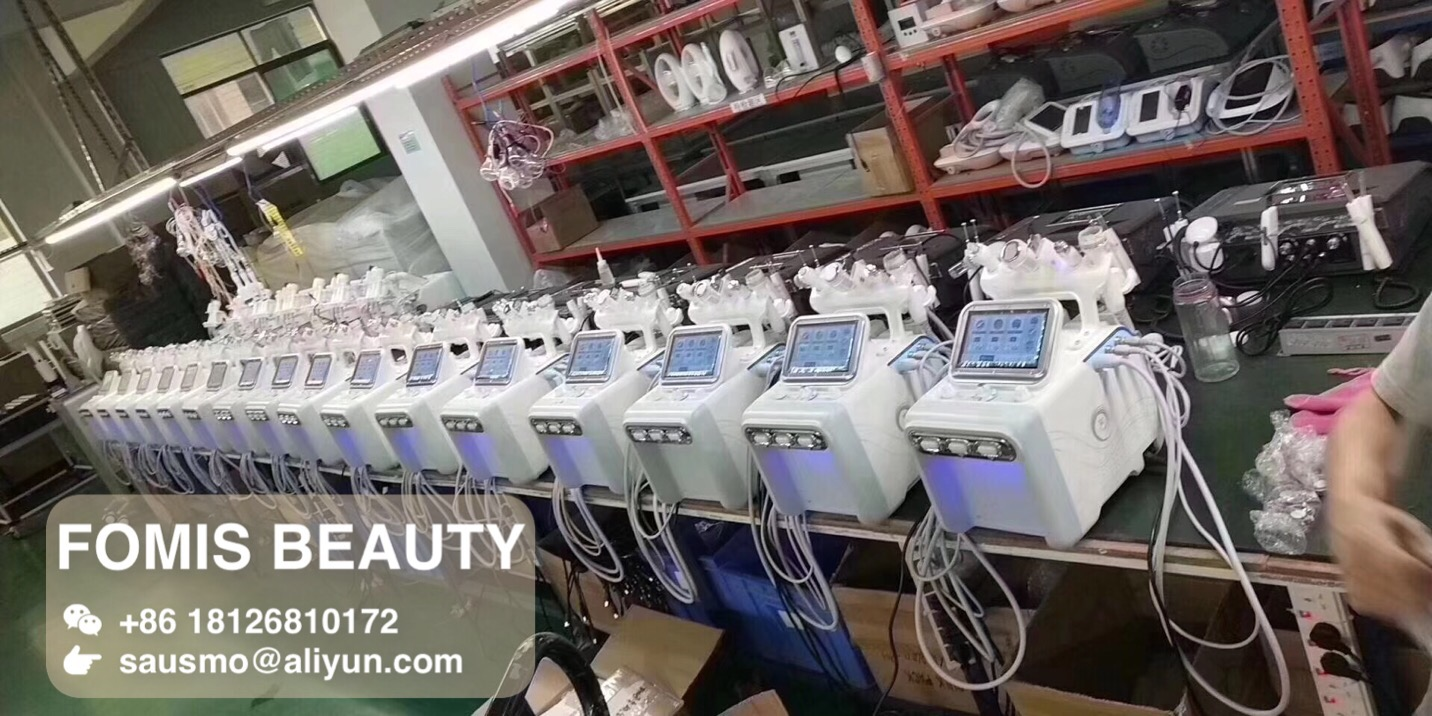 6 in 1 New H2O2 Hydro dermabrasion Aqua Peel Facial Machine