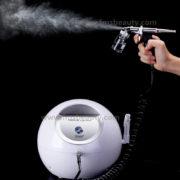oxygen spray.